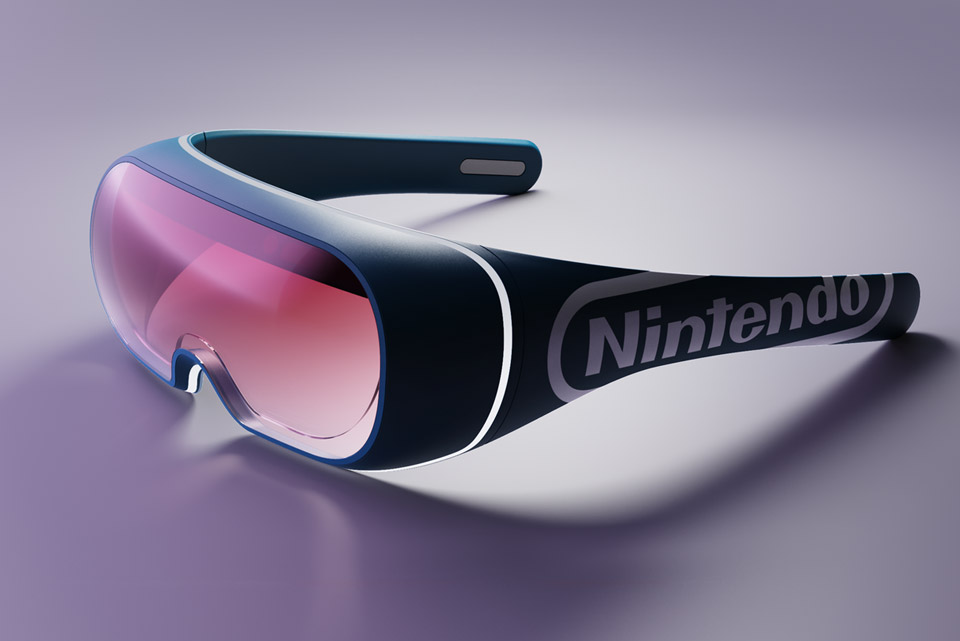 Nintendo Switch AR-VR Glasses
