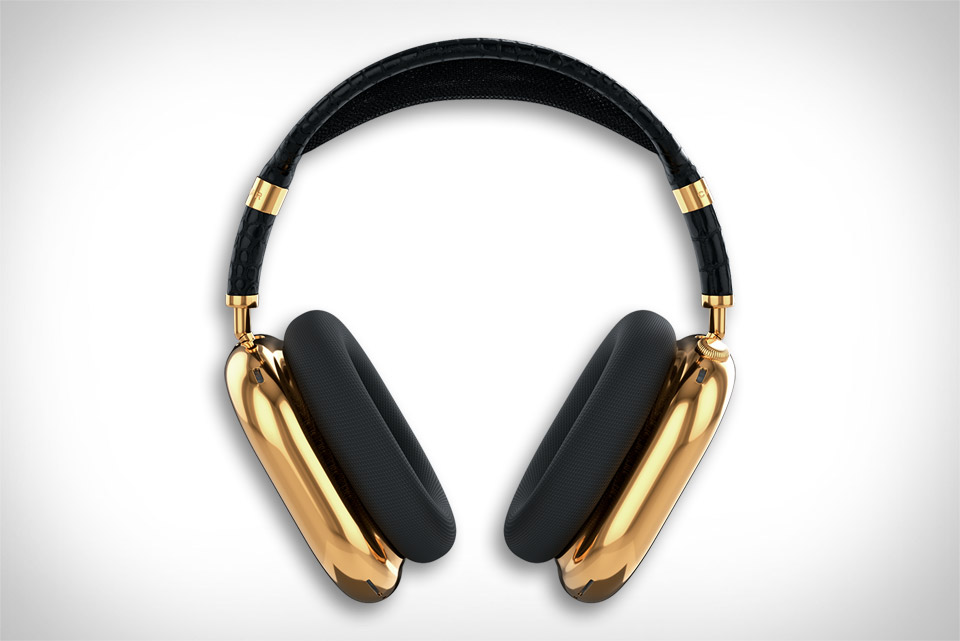 Caviar Gold AirPods Max Headphones