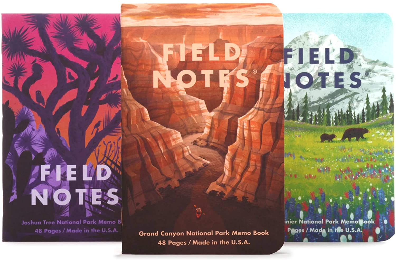 Field Notes: National Parks Series