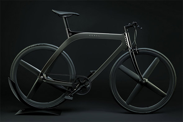 The Limited-Edition Extans Akhal Shadow Bike