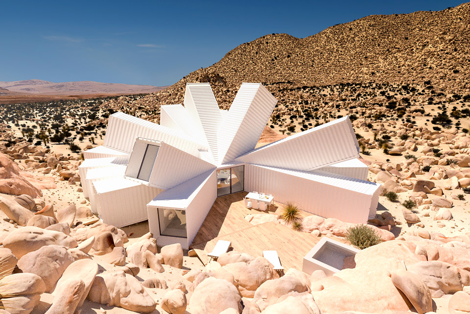 Joshua Tree Shipping Container Residence