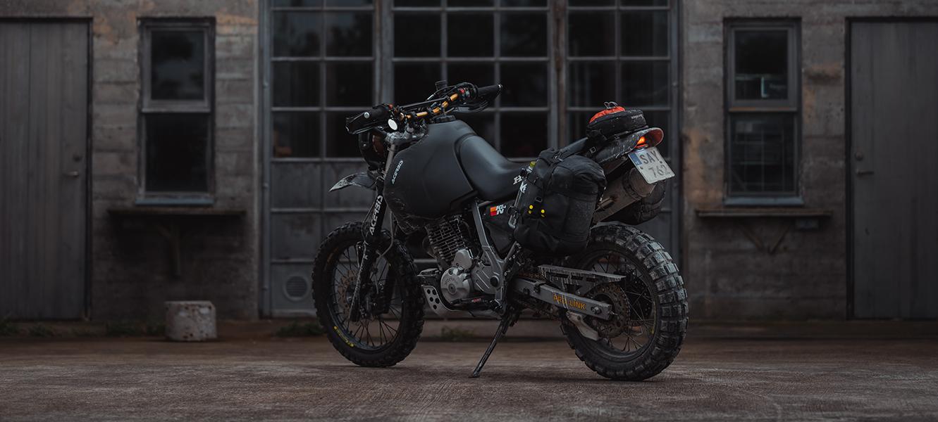Honda Dominator Motorcycle By Gorm