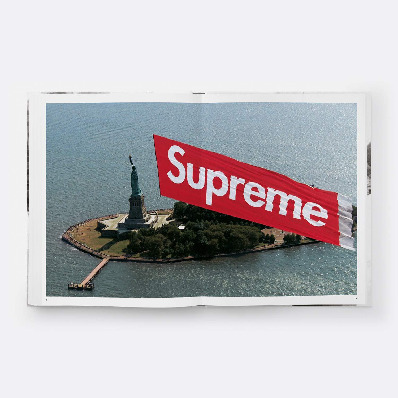 Supreme Hardcover Book