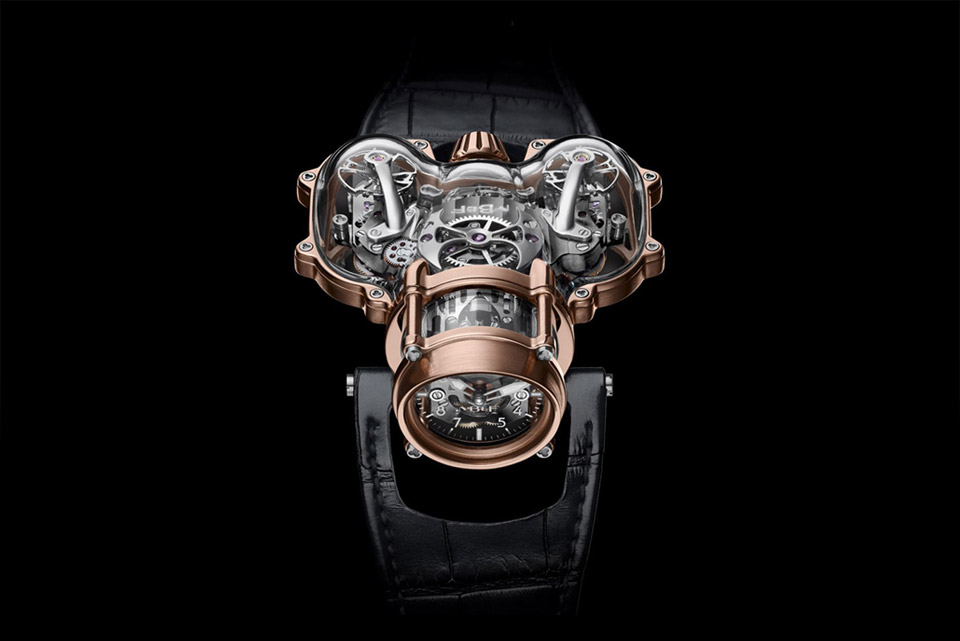 MB&F HM9 Sapphire Vision Timepiece