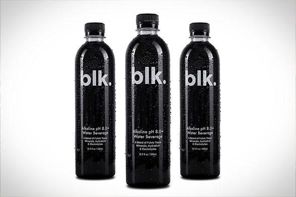 blk. Natural Mineral Alkaline Water