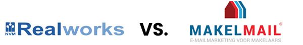Realworks nieuwsbrief versus MakelMail