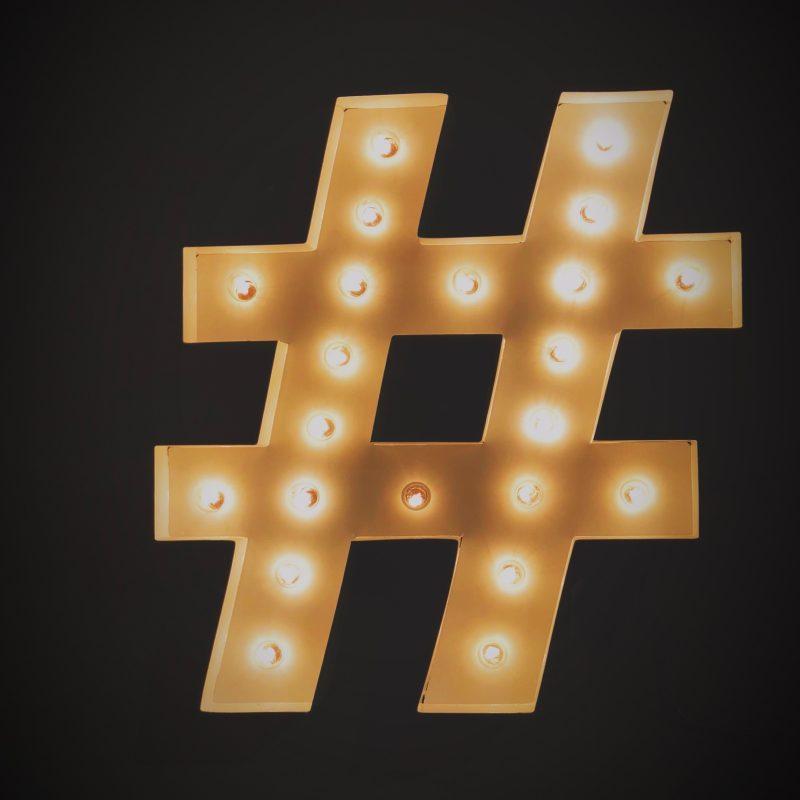 Welke hashtags zijn belangrijk voor de makelaardij?