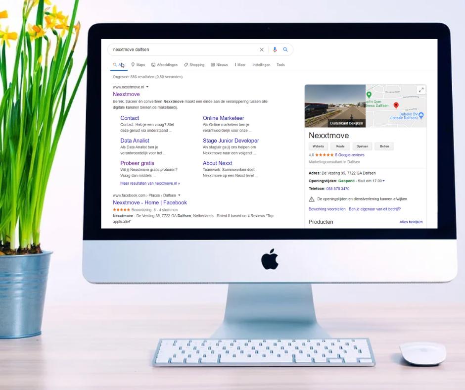 Heb jij Google Mijn Bedrijf al aan Nexxtmove gekoppeld?