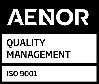 Logo Aenor ISO 9001