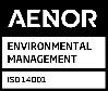 Logo Aenor ISO 14001