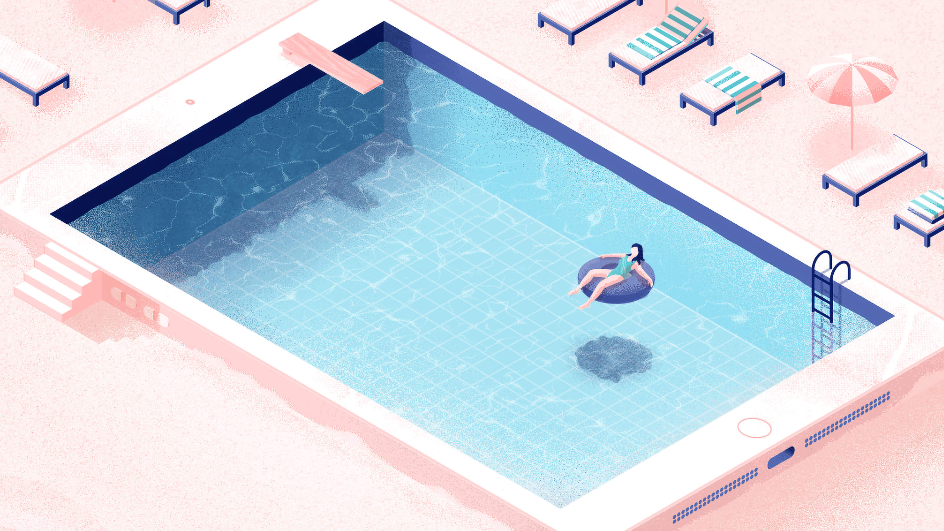 Bringing Peace ‍to The Poolside