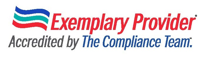 Exemplary Provider Accredited by The compliance Team.
