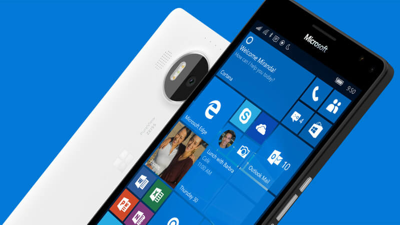 Windows 10 Phone with Live Tiles