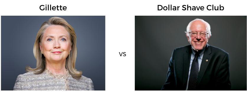 gillet vs dollarshaveclub