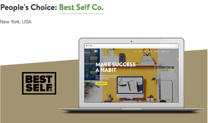 Shopify Build a Business Contest Peoples Choice