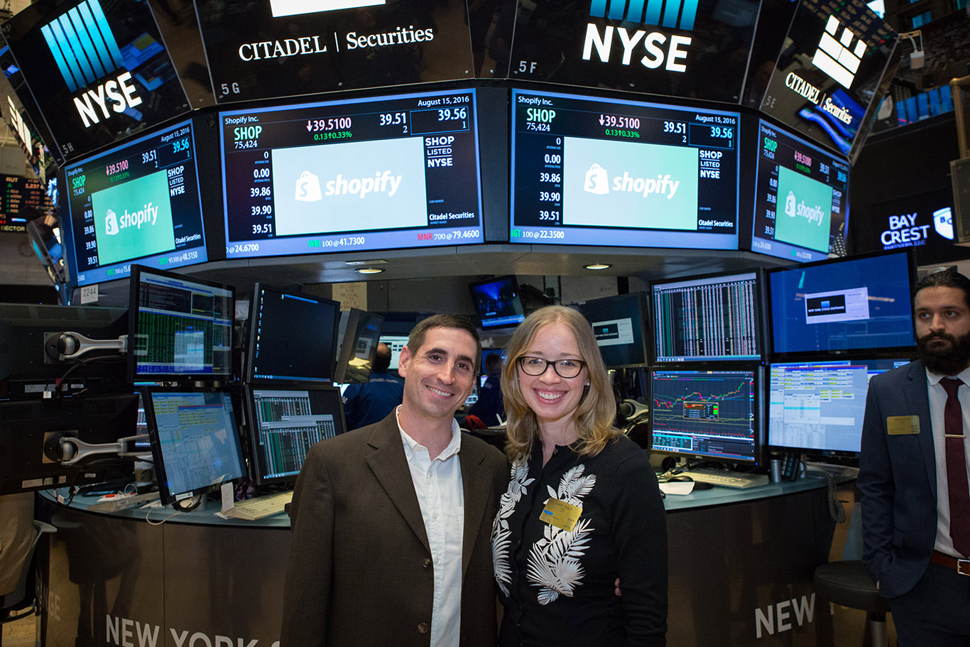 2016 Shopify Build a Business winners in NYSE