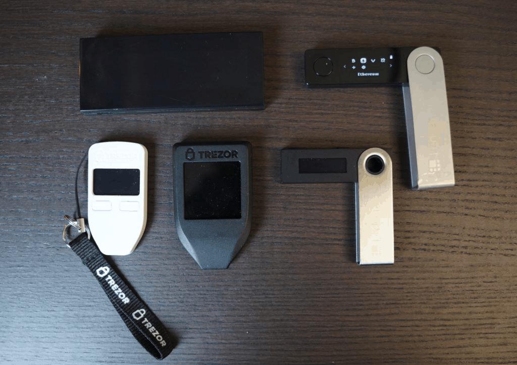 Ledger Nano S vs Trezor one vs Trezor T vs Ledger Nano X