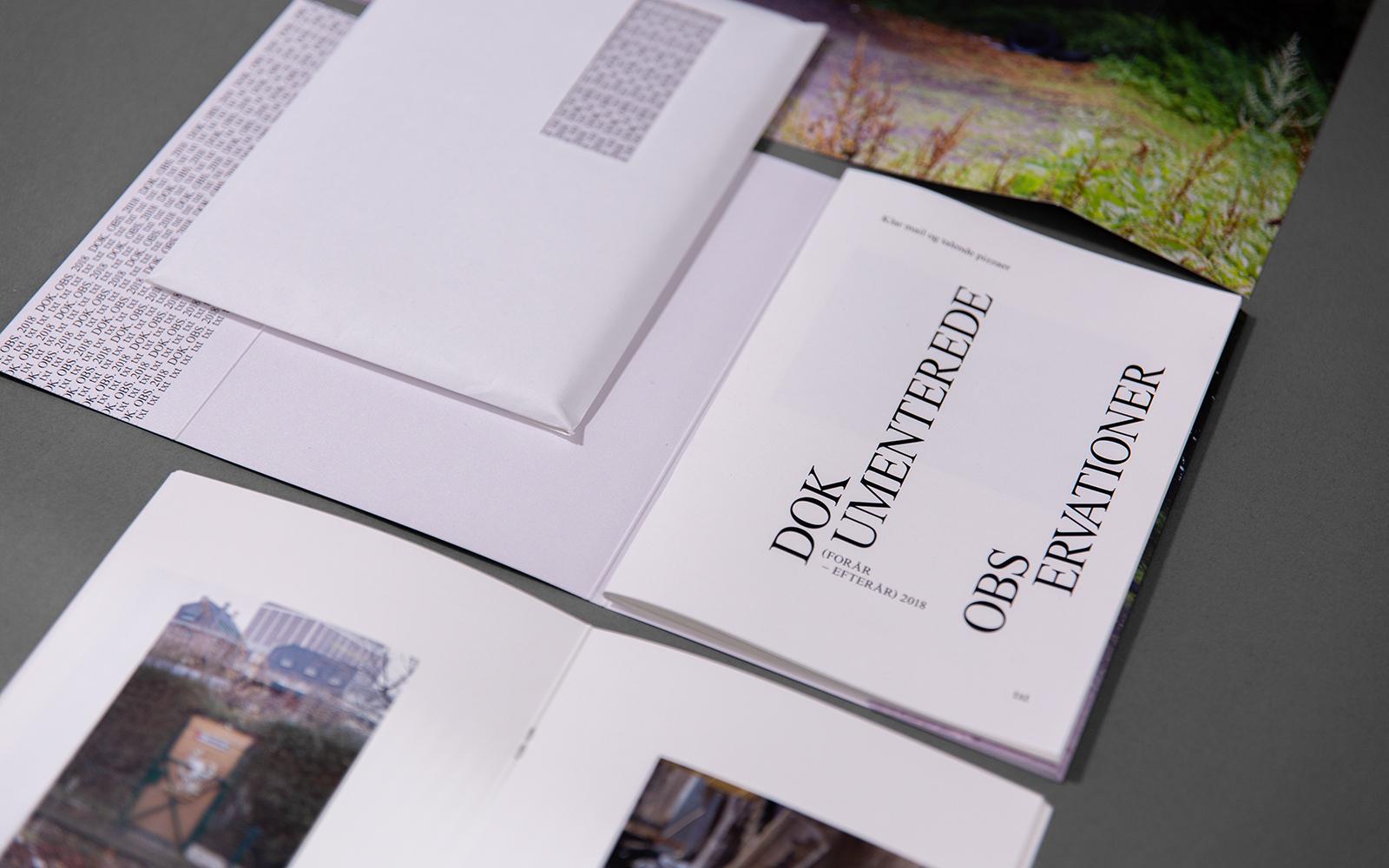 Publikationen Dokumenterede Observationer