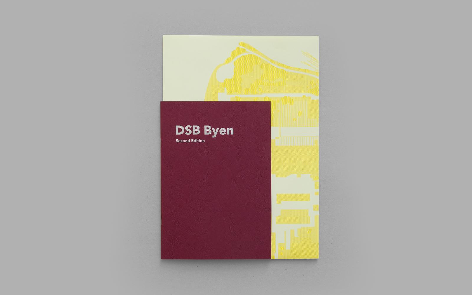 Omslag til bogen DSB Byen