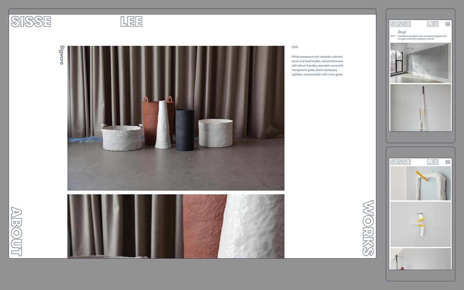 Sisse Lee website