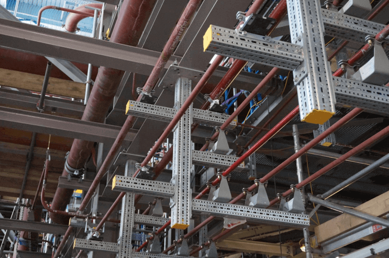 Sikla provides a versatile, multifunctional steel framing solution for industrial, above-ground piping and heavy-duty cabling.