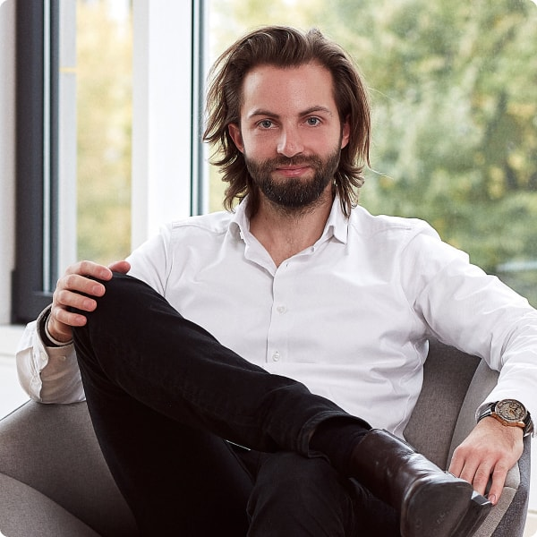 Leif-Nissen Lundbæk (Ph.D.)  - CEO and Co-Founder