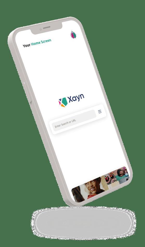 Phone with Xayn App