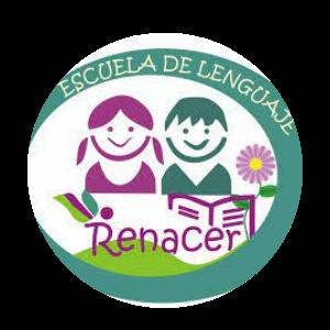 logo escuela de lenguaje  renaceres