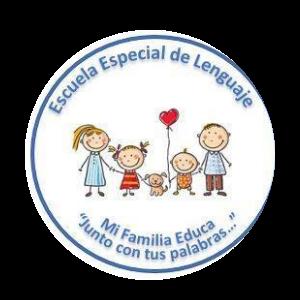 logo escuela de lenguaje  familia educa