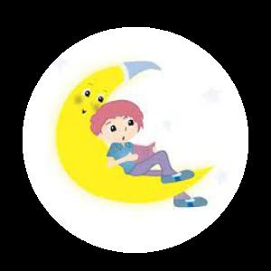 logo escuela de lenguaje luna nueva