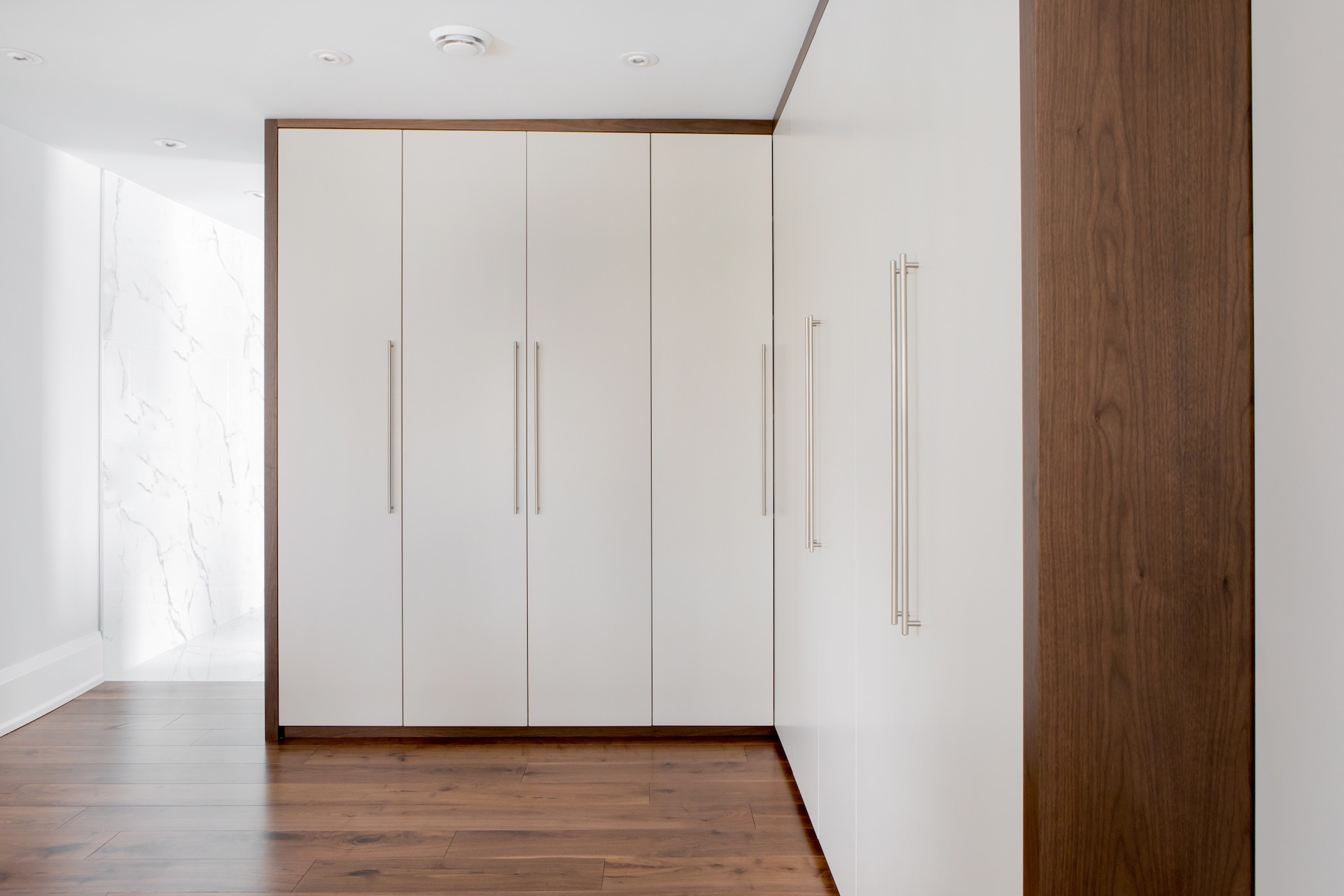 white wardrobe doors