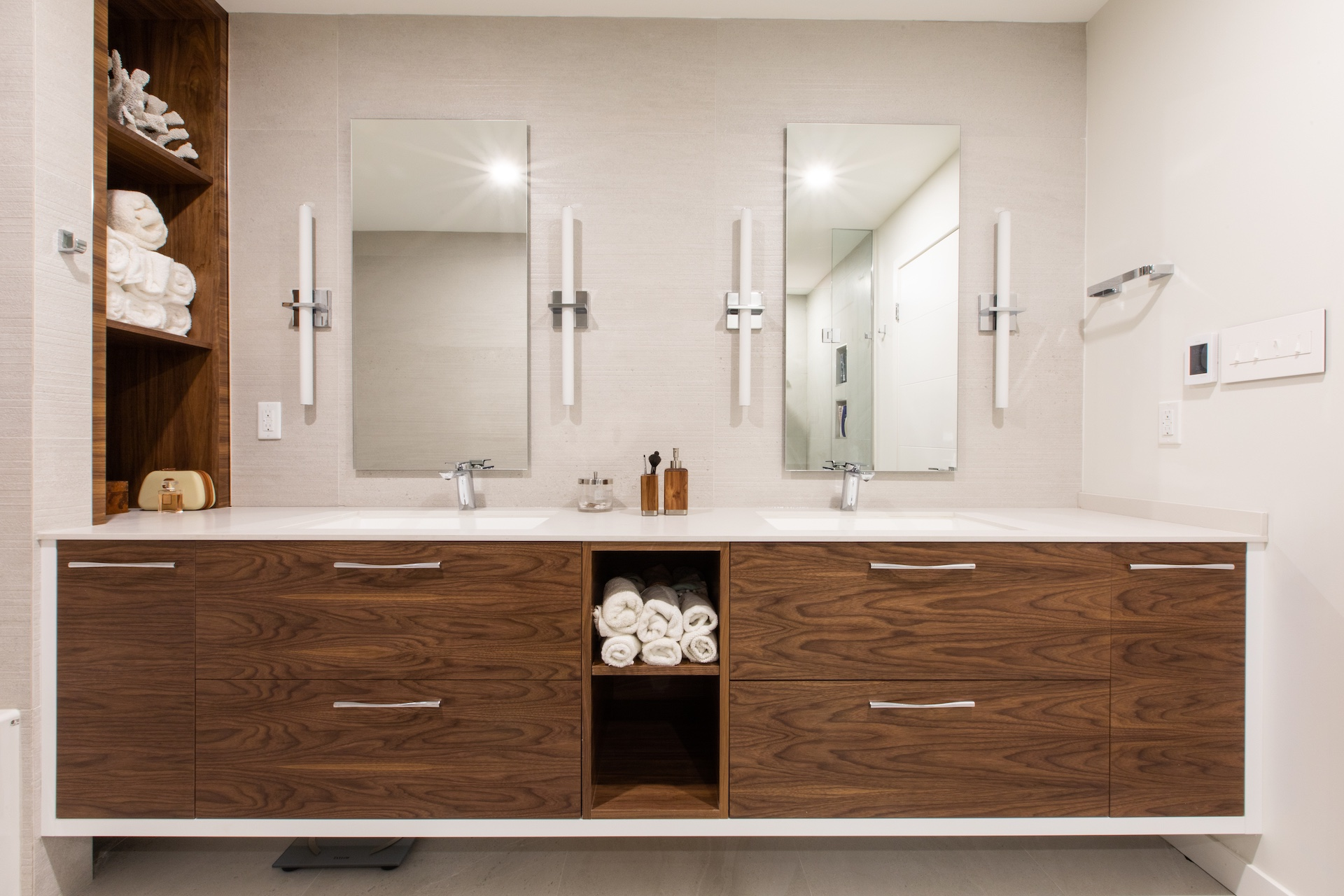 bath vanity double sinks wood cabinets