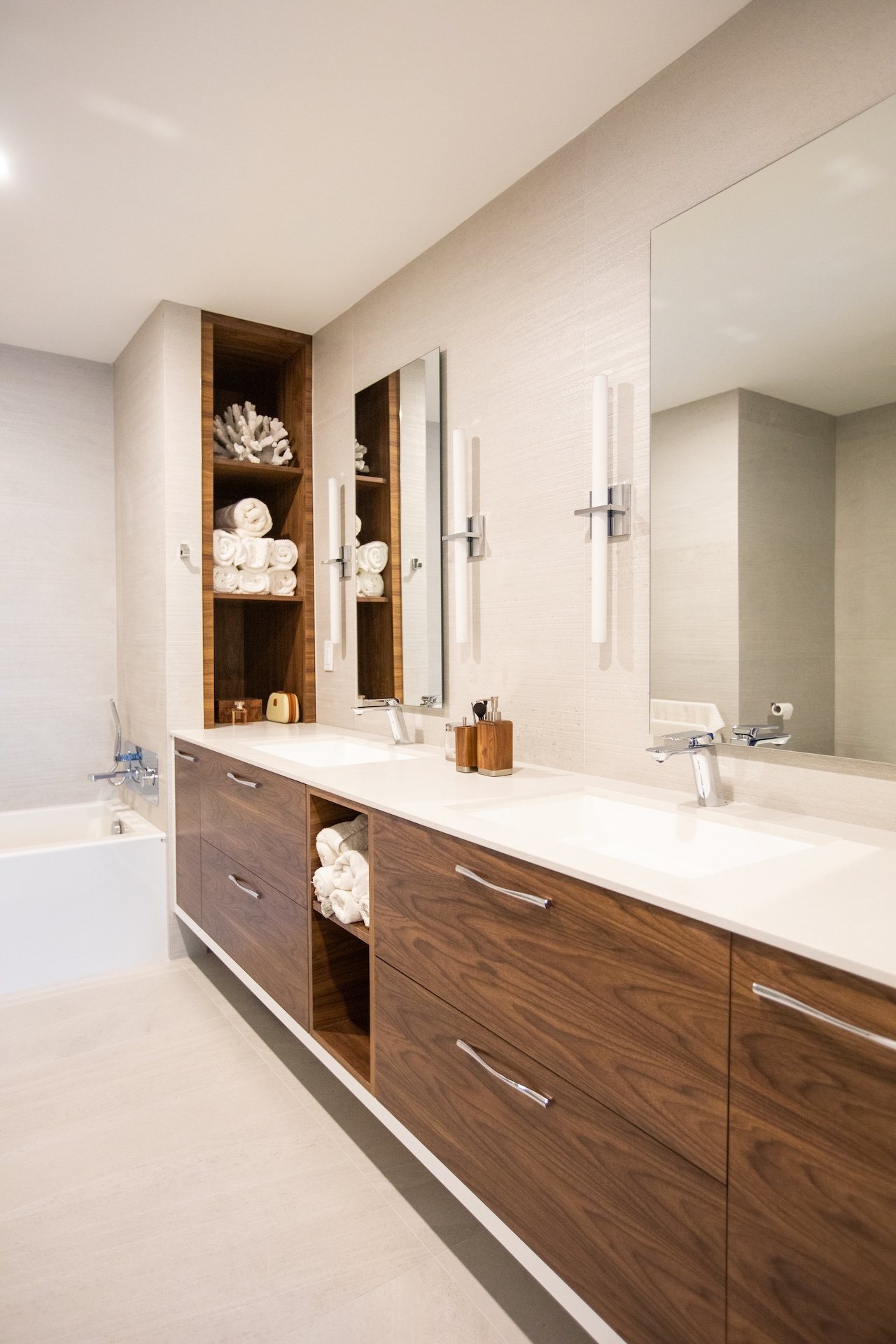 bath vanity double sinks