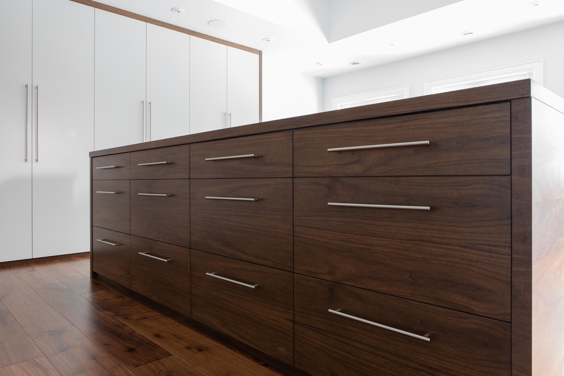 Wood drawers