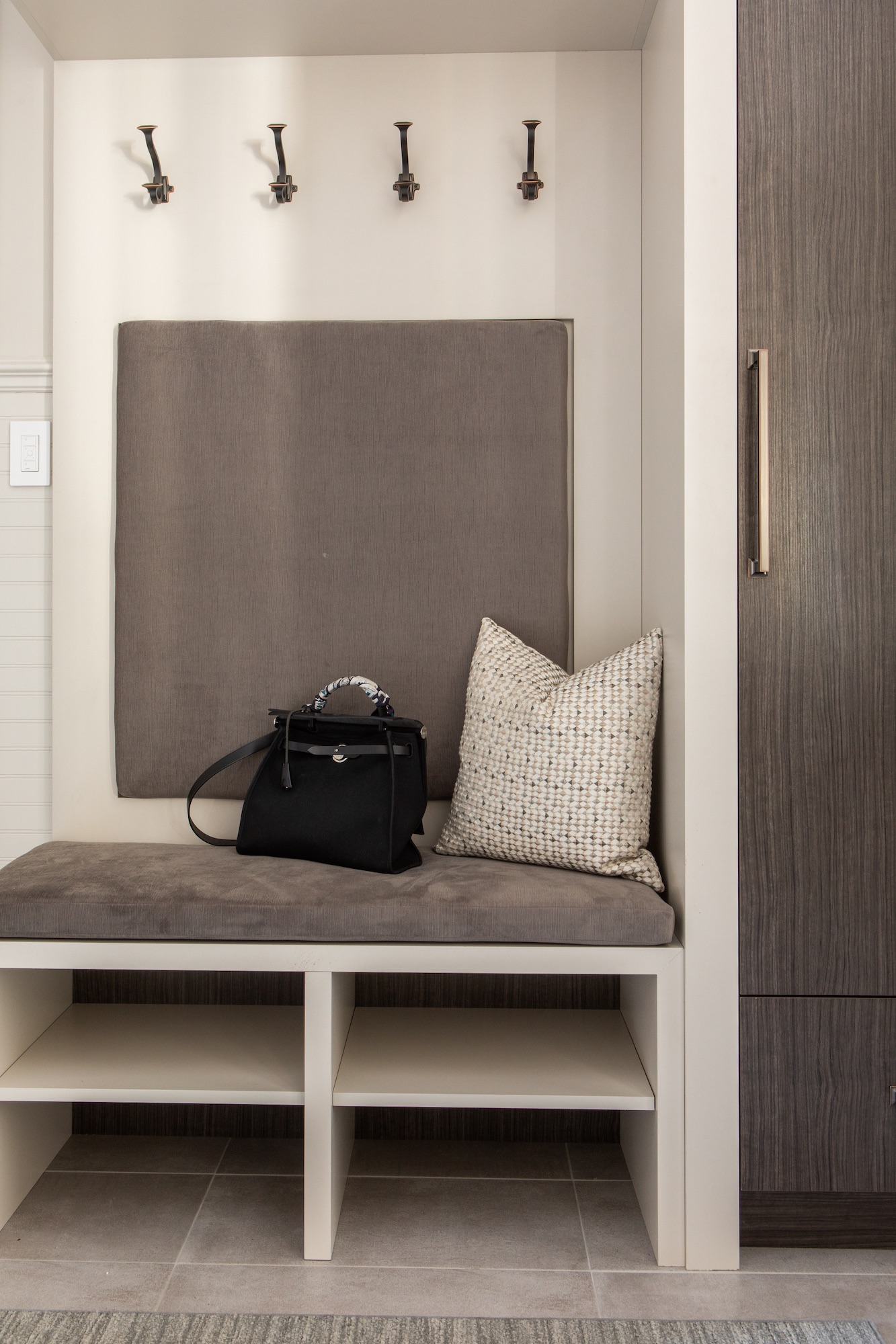 Mud room with bench