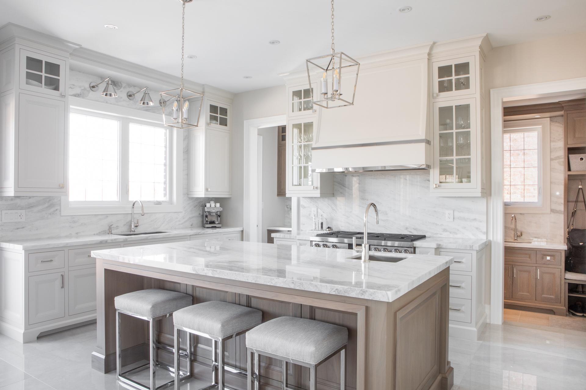 White and grey NIICO kitchen