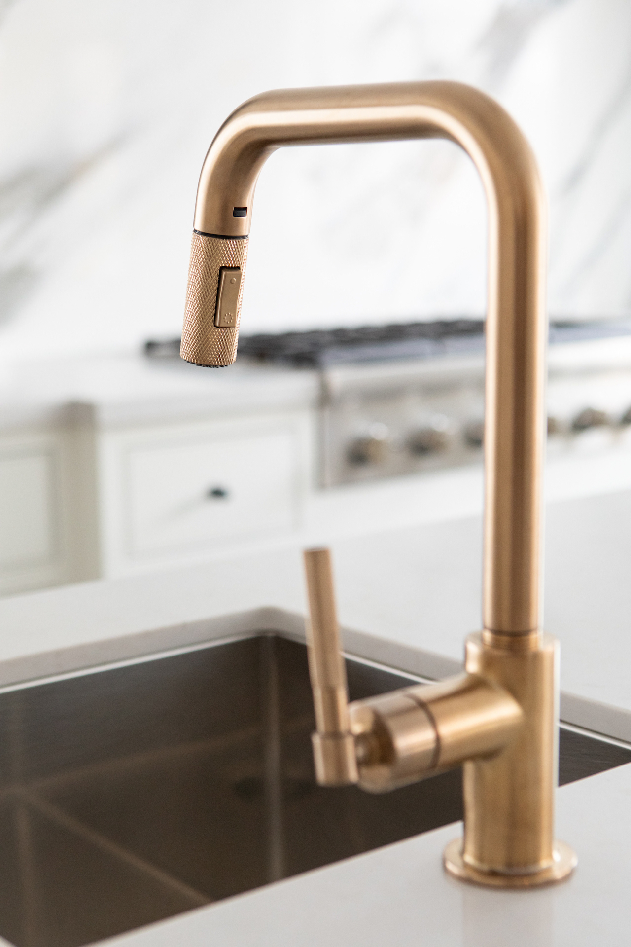 gold sink tap