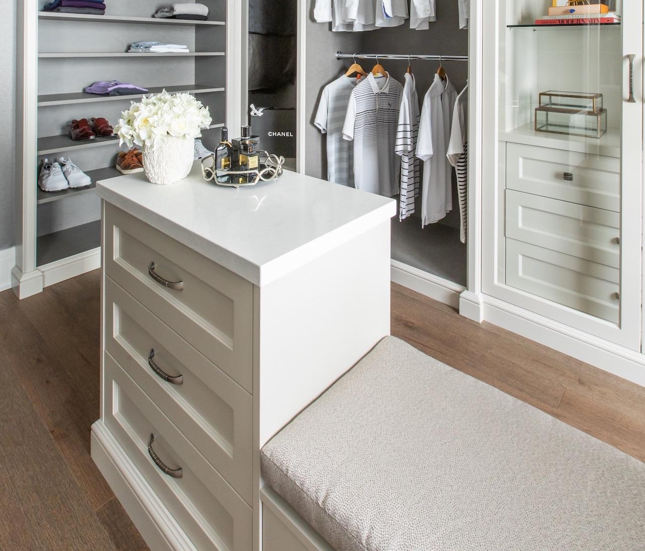 Starfire white drawer top