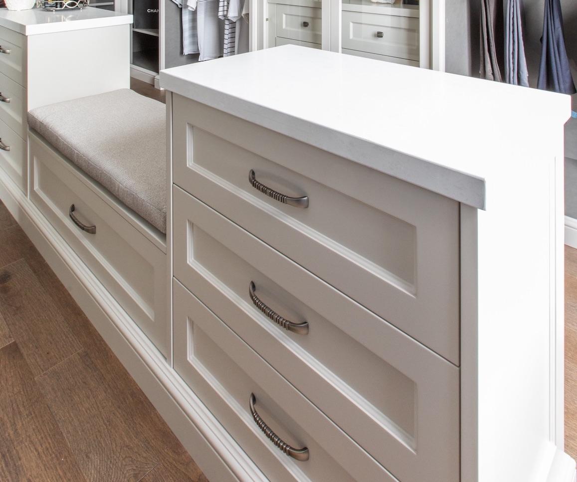 Silver drawer handles