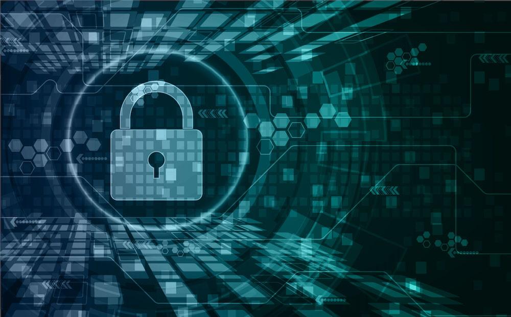 Cadenas et données pour évoquer la cybersécurité