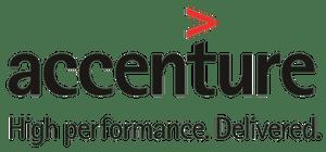 Logo entreprise Accenture