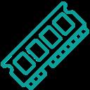 Icone d'une RAM d'ordinateur