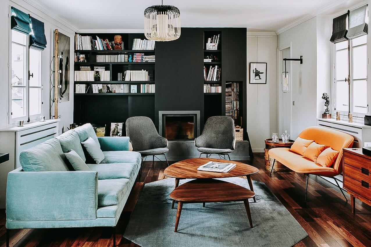 Rue de Nesle Paris 6e – 121 m²