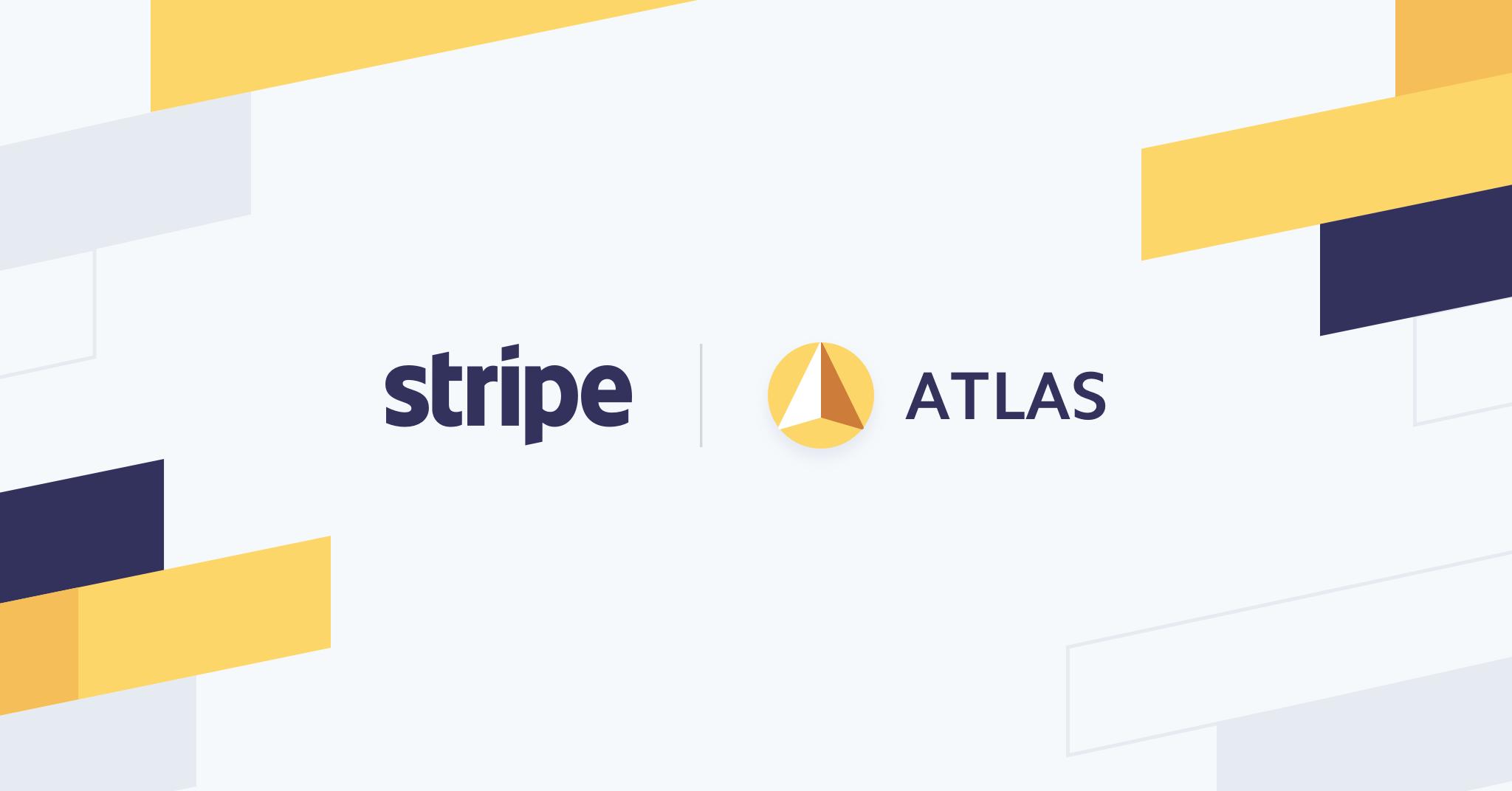atlas logo by stripe