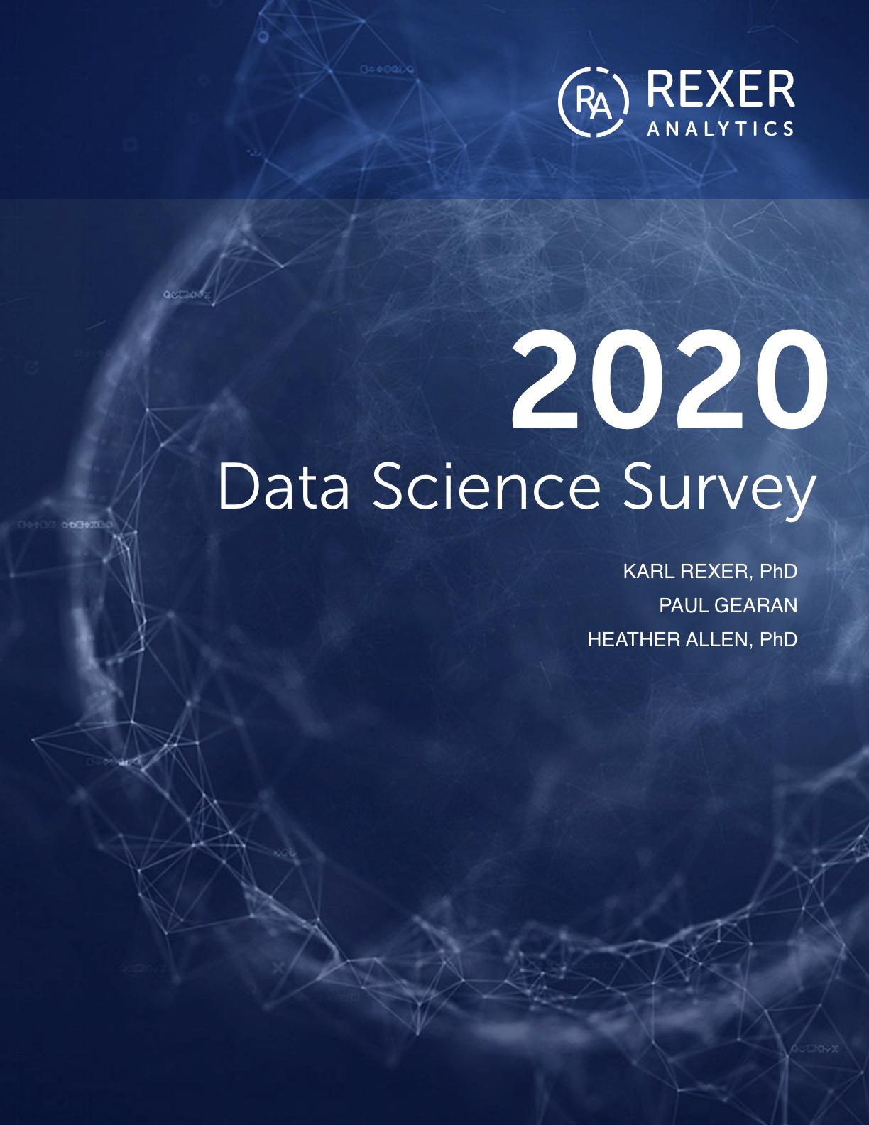 2020 data science survey