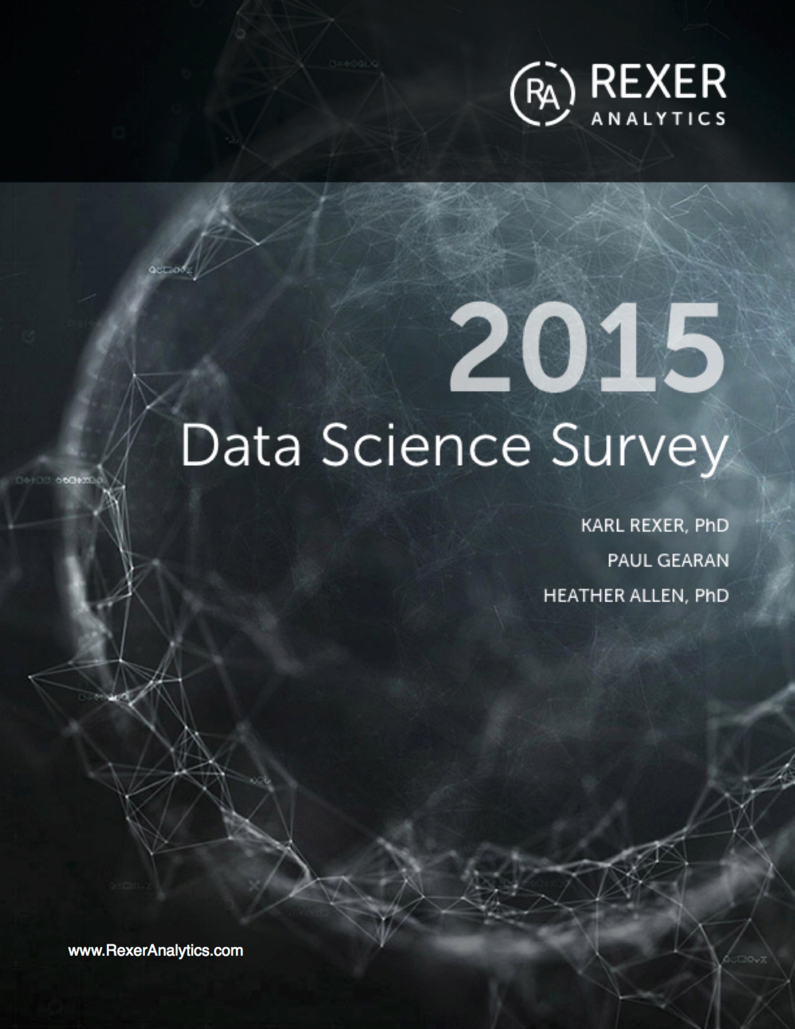 2015 data science survey