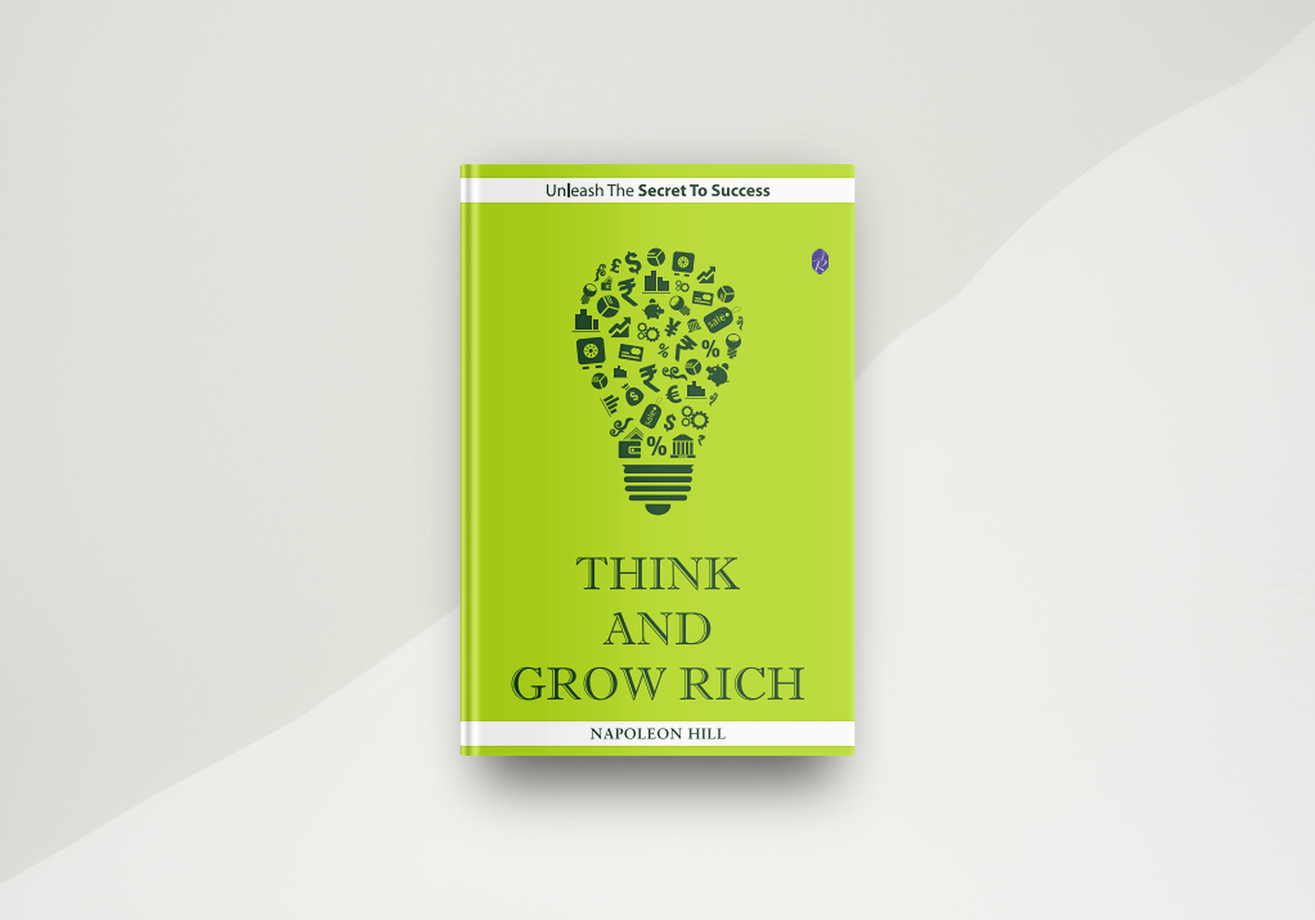 Think And Grow Rich By Napoleon Hill - Book Cover