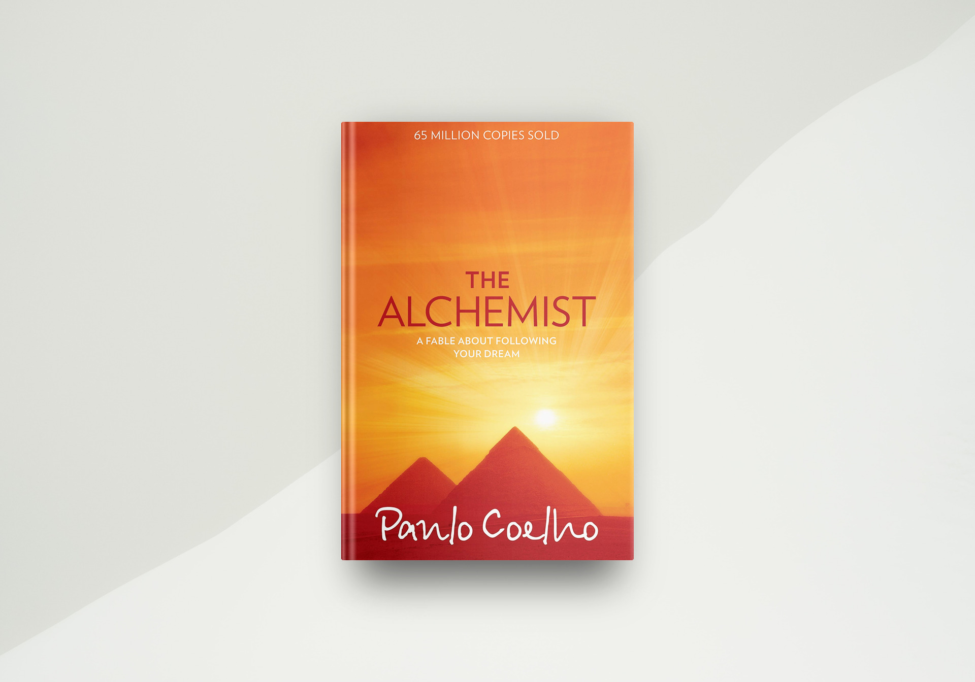 The Alchemist By Paulo Coelho - Book Cover