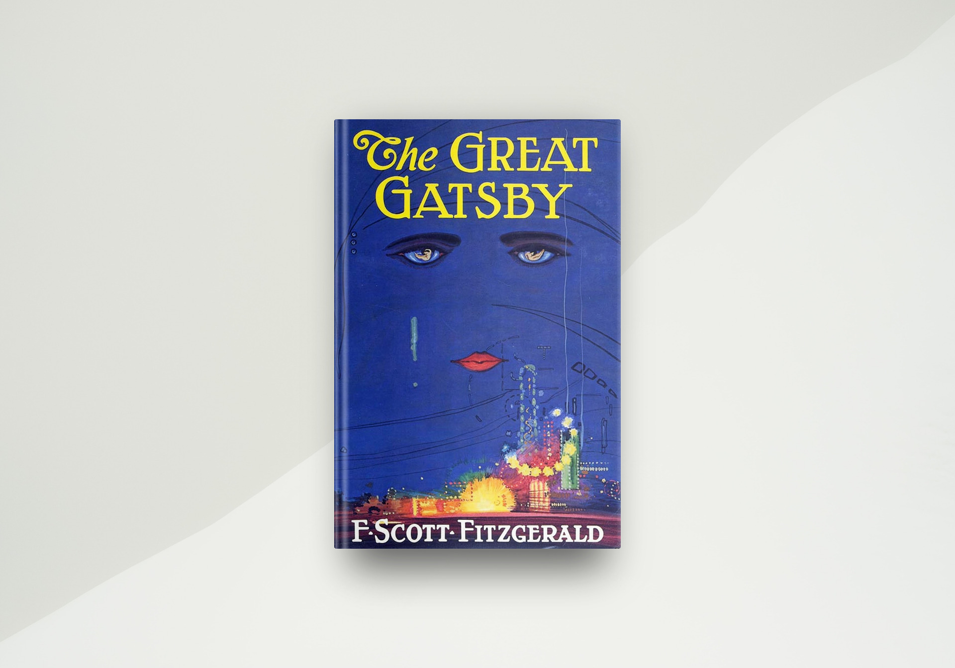 The Great Gatsby By F. Scott Fitzgerald - Book Cover
