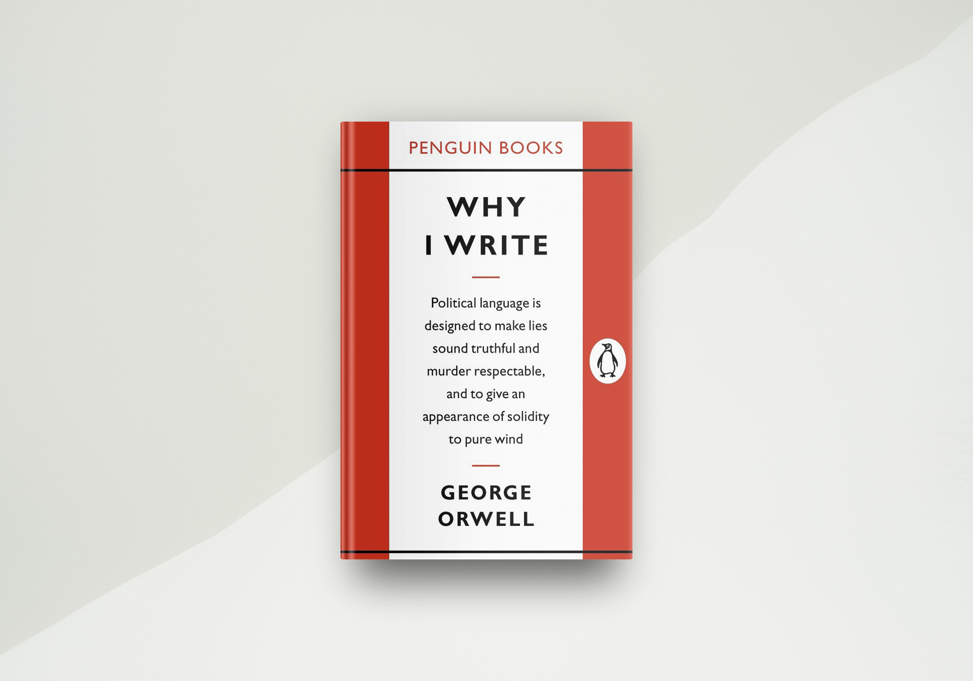 Why I Write By George Orwell - Book Cover